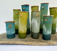 9 Salt Pots